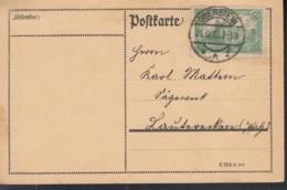 INFLA DR 113 EF Auf Postkarte Mit Stempel: Oberstein 21.6.1922 - Deutschland