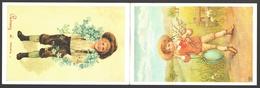 Brusselse Prentkaartenclub Manneken Pis 1996 - Carte Double / Dubbele Kaart - Bourses & Salons De Collections