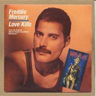"7"" Single, Freddy Mercury, Love Kills - Disco, Pop"