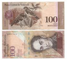 VENEZUELA - 100 BOLIVARES 2014 - Venezuela