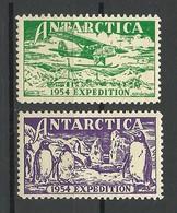 AUSTRALIA 1954 Antarctic Expedition MNH - Unused Stamps