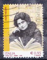 2018  ADA NEGRI USATO - 6. 1946-.. Repubblica