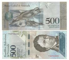 VENEZUELA - 500 BOLIVARES 2017 - Venezuela