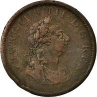 Monnaie, Ireland, George III, Penny, 1805, TB, Cuivre, KM:148.1 - Irlande