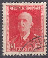 ALBANIA - 1939 -  Yvert  262 Usato. - Albania