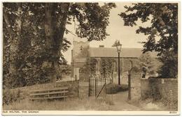 Old Milton, The Church Postmark 1954 - Photochrom - Angleterre