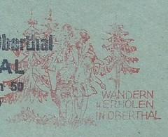 EMA METER FREISTEMPEL GERMANY Oberthal Saar 1981 Family Nature - Holidays & Tourism