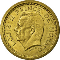 Monnaie, Monaco, Louis II, 2 Francs, Undated (1943), Paris, TTB, Aluminium - 1922-1949 Louis II