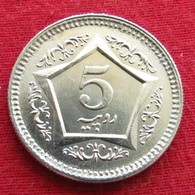 Pakistan 5 Rupees 2005 KM# 65  Paquistao - Pakistán