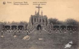 ACHEL - Cistercienser Abdij.  Kerkhof En Calvarieberg - Hamont-Achel