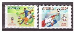 Aruba 2018 Voetval Soccer Worldchampionship MNH - Curaçao, Nederlandse Antillen, Aruba