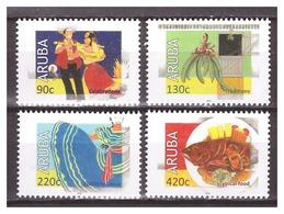 Aruba 2018 Cultuur Culture Dance Dress Fish MNH - Curaçao, Nederlandse Antillen, Aruba