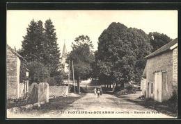 CPA Fontaine-en-Due Smois, Entree Du Pays - Sin Clasificación