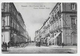 Taranto - Via D'Aquinio Visto Da Piazza Giordano Bruno - Taranto