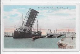 Entering The Port Of Corpus Christi - Corpus Christi