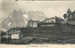 CPA LESCUN Euskadi Le PIC D'ANIE Vue Hameau Non Circulée - CARRACHE N°3 - Basses Pyrenees Atlantiques - France
