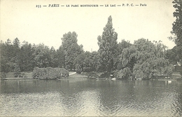 PARIS 14  -- , Le LacParc Montsouris                                    -- P P C 255 - District 14