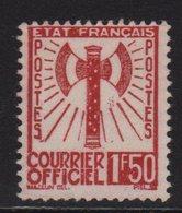 Francisque - N°8 - 1f50 Brun Rouge - Neuf Sans Gomme - Cote 45€ - Servizio