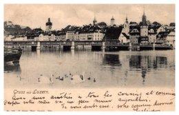Switzerland Gruss Aus Luzern - LU Lucerne
