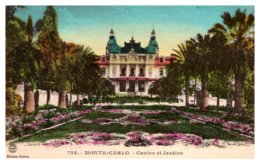 Monaco Monte Carlo , Casino De Jardine - Monte-Carlo