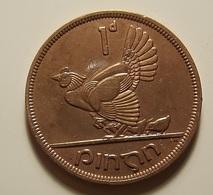 Ireland 1 Penny 1948 Varnished - Irlande