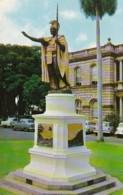 Hawaii Honolulu Kamehameha Statue - Honolulu