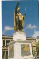 Hawaii Honolulu King Kamehameha Statue - Honolulu