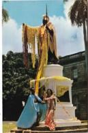 Hawaii Honolulu Kamehameha Statue Bedecked With Leis On June 11 Kamehameha Day - Honolulu