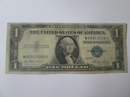 USA 1 Dollar 1935 Silver Certificate Banknote - Certificats D'Argent (1928-1957)