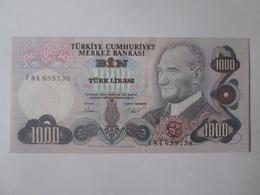 Turkey 1000 Lirasi 1971-1982 UNC,6th Issue Banknote - Turquie