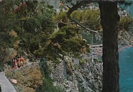 POSITANO-SALERNO-SCORCIO CARATTERISTICO-CARTOLINA VERA FOTOGRAFIA VIAGGIATA IL 9-4-1977 - Salerno