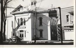 Hotel De Ville, Vintage Car, Saint -  Jerome Photo Veritable - Quebec