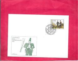 LIECHTENSTEIN - Enveloppe Premier Jour - LOT De 3 - Letzter Einsatz Des El Militark Ontingents 1866   - - Liechtenstein