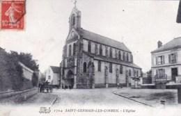 91 - Essone - SAINT GERMAIN LES CORBEIL  - L Eglise - France