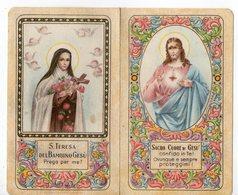 Piccolo Calendario Small Calendar Pet Calendrier Kleiner Kalender 1943 S.Teresa Del Bambin Gesù E S. Cuore - Kalenders