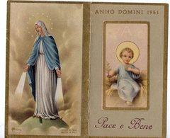 Piccolo Calendario Small Calendar Pet Calendrier Kleiner Kalender  Bambin Gesù Maria Immacolata 1961 - Kalenders