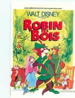 Walt Disney -  Robin Des Bois Affiche Sur Carte   Y 109 - Autres