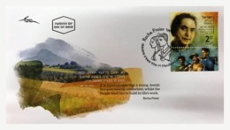 3.- ISRAEL 2018 Pioneering Women - Recha Freier - (FDC) (First Day Cover) - FDC