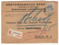 13206 - Pour L'Allemagne - Period 1891-1948 (Wilhelmina)