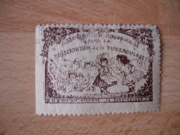 Erinnophilie Antituberculeux Rouen Societe Rouannaise Vignette Timbre - Erinnophilie