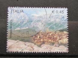 *ITALIA* USATI 2004 - TRANSUMANZA TRATTURO MAGNO - SASSONE 2764 - LUSSO/FIOR DI STAMPA - 6. 1946-.. Repubblica