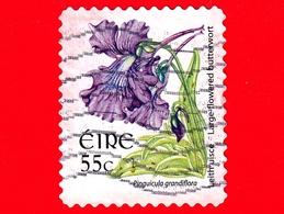 IRLANDA - Usato - 2007 - Fiori Selvatici - Flowers - Fleurs - Pinguicula Grandiflora - 55 - 1949-... Repubblica D'Irlanda