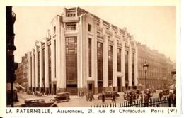 Dpt 75 Paris IX 21 Rue De Chateaudun La Paternelle Assurances - Autres