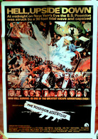 AFF CINE US ORIG L AVENTURE DU POSEIDON (1972) 69x104cm Approx Film Catastrophe - Posters