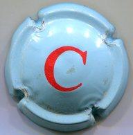 CAPSULE-CHAMPOMY C Rouge Sur Fond Bleu - Soda