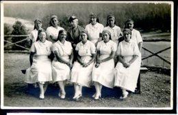 Guerre 14-18 Hopitaux Societe De Secours Aux Blesses Militaires Hopital Ecole, Quelques Infirmieres - Guerra 1914-18
