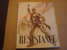 """Pochette """"Résistance"""" :1 Luxueuse Revue De 192 Pages Et Une Série De 24 Superbes Dessins - Boeken"""
