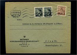 BOEHMEN+MAEHREN Interessanter Brief ANSEHEN (74350) - Besetzungen 1938-45
