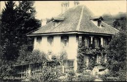 Cp Reichenbach Im Kandertal Kt. Bern Schweiz, Pfarrhaus, Garten - BE Berne