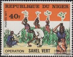 Niger 585 (kompl.Ausg.) Postfrisch 1977 Rekultivierung Der Sahelzone - Niger (1960-...)